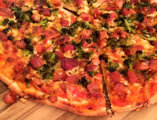 Receita de Pizza Low Carb